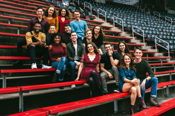 Keaton Whittaker and the CCM Class of Musical Theatre of 2018