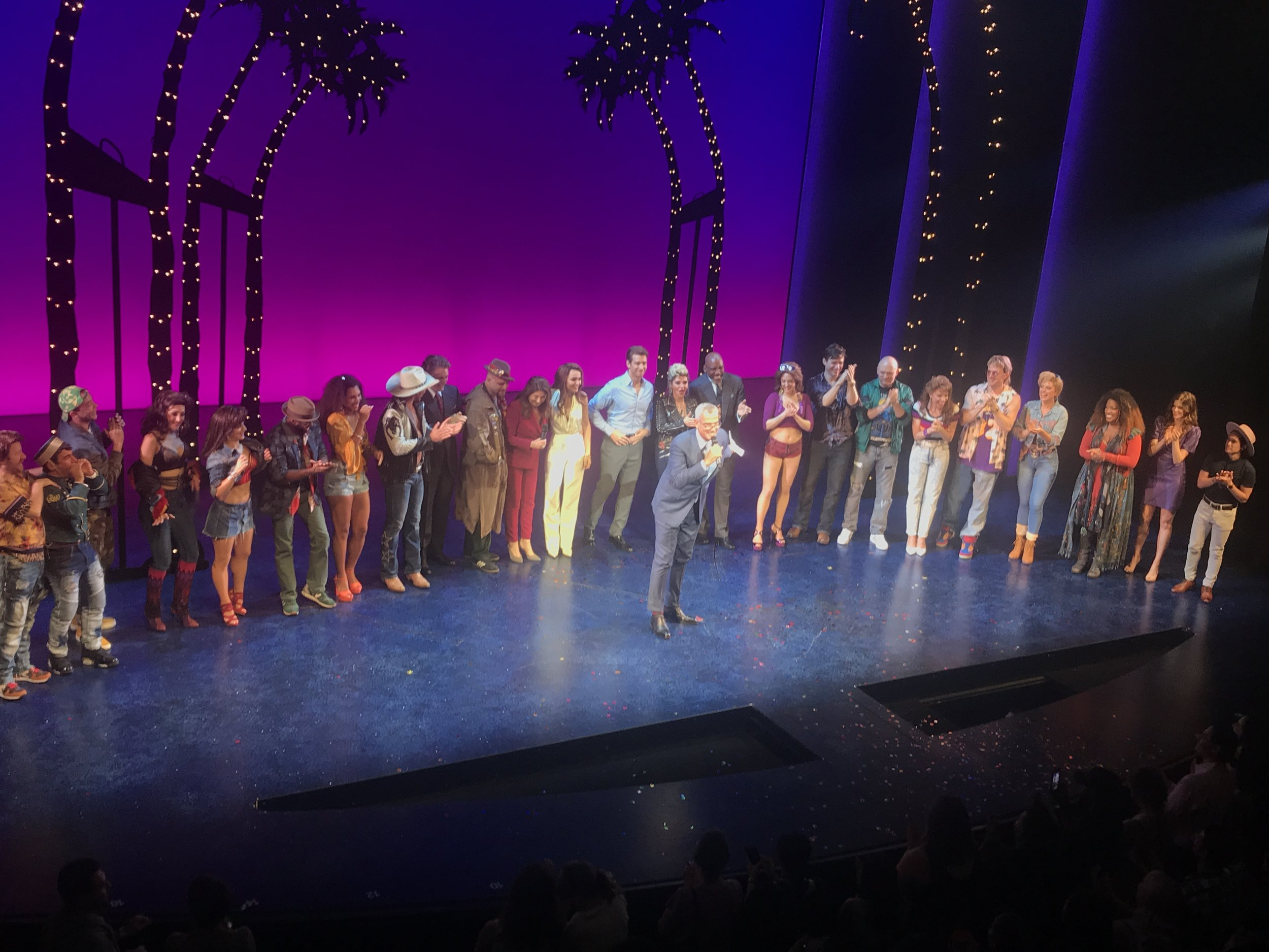 Jerry Mitchell and the cast of  Pretty Woman: The Musical