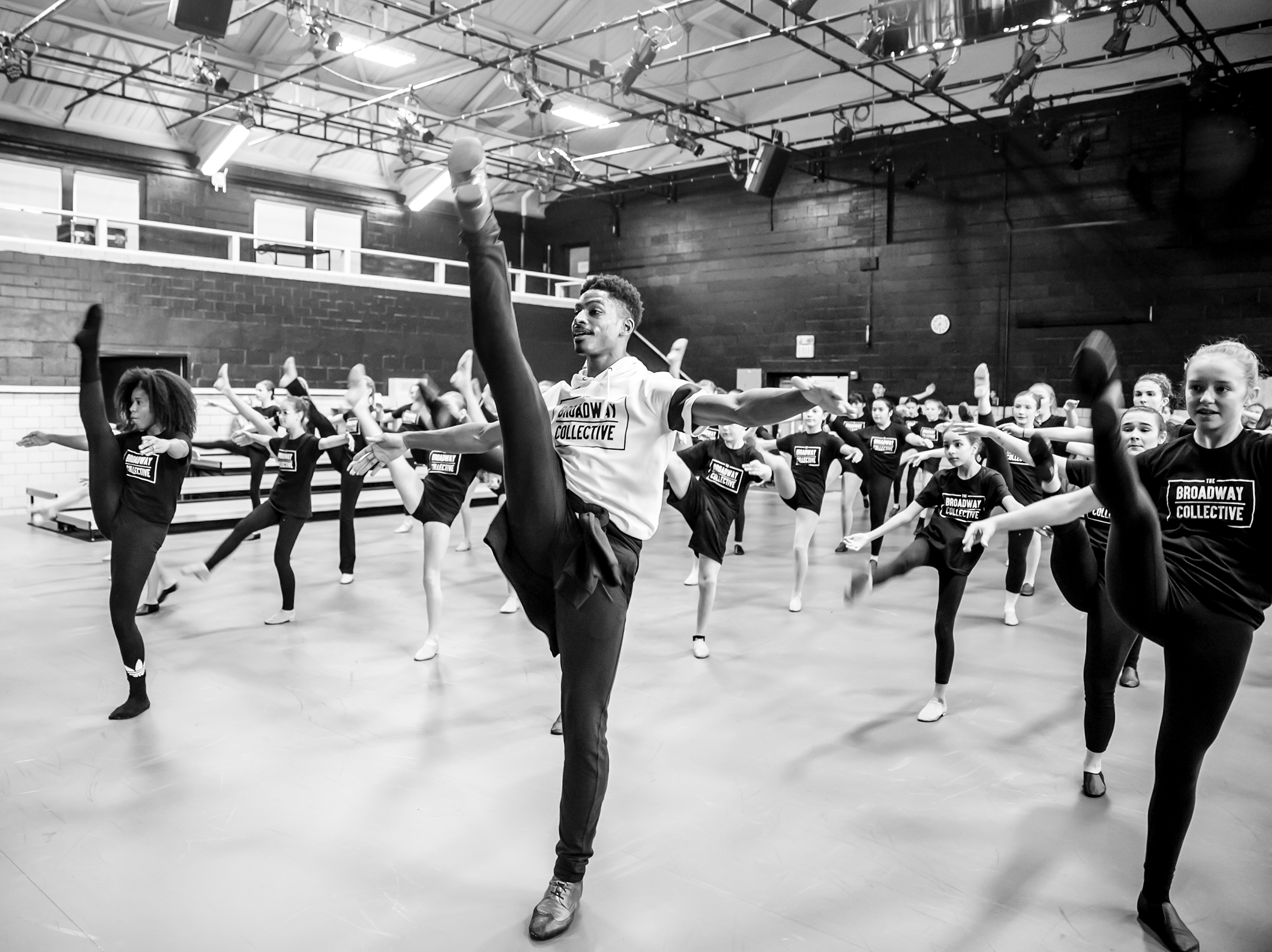 Robert Hartwell teaching for Broadway Collective
