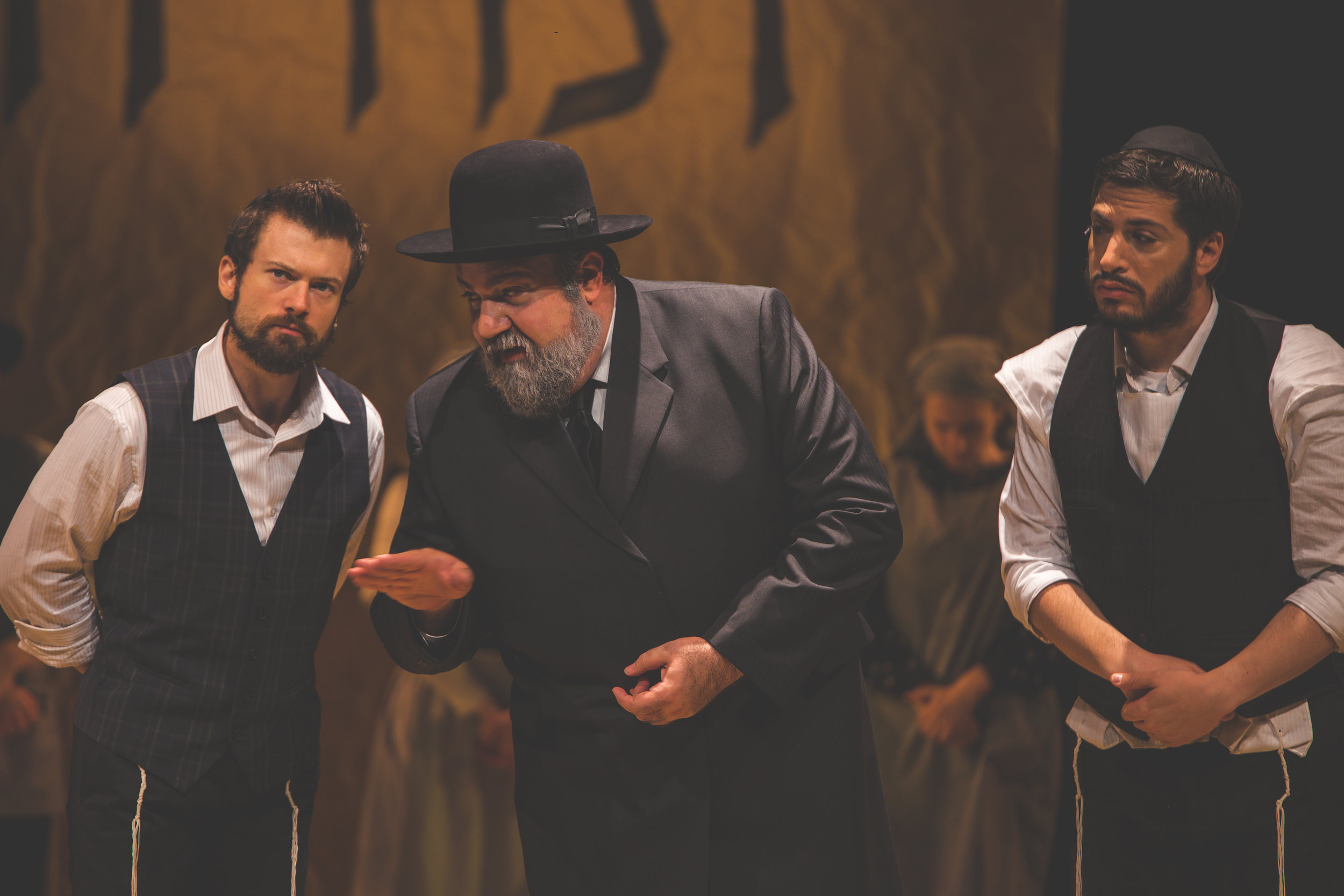 James Monroe Stevko and the National Yiddish Theatre Folksbiene production of  Fiddler on the Roof