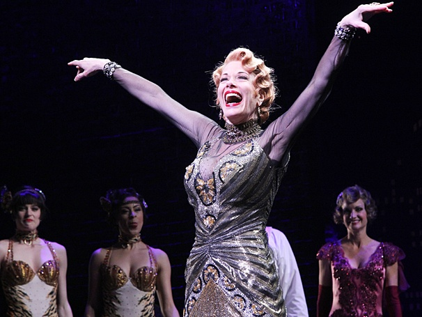 Marin Mazzie in  Bullets Over Broadway