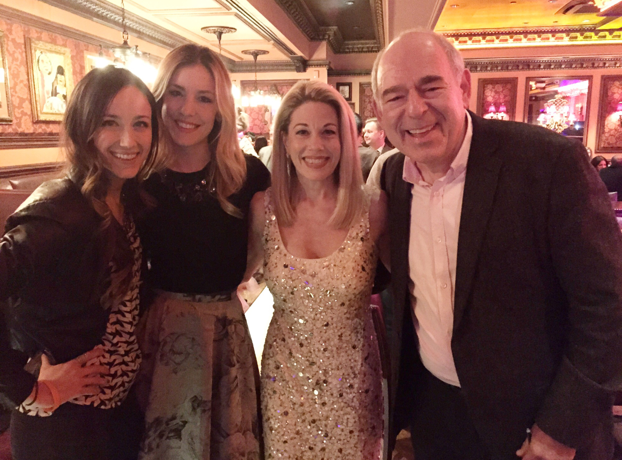 Marin Mazzie with Beth Johnson Nicely, Brittany Marcin and Lenny Wolpe