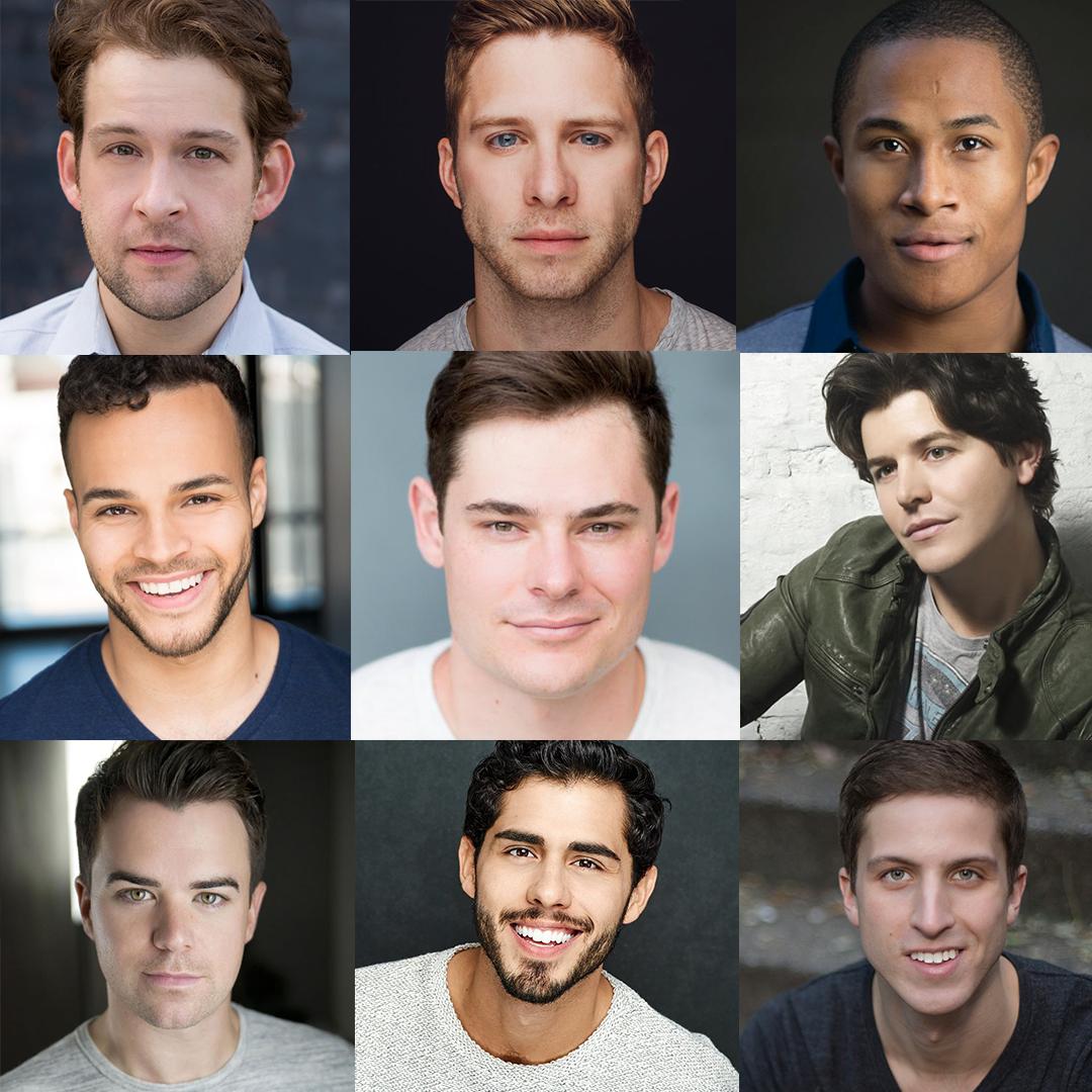From top left: Andrew Kober, Corey Mach, Daniel Yearwood, Chris Medlin, Jacob Haren, Jason Forbach, Ross Lekites, Jacob Gutierrez and Josh Daniel Green