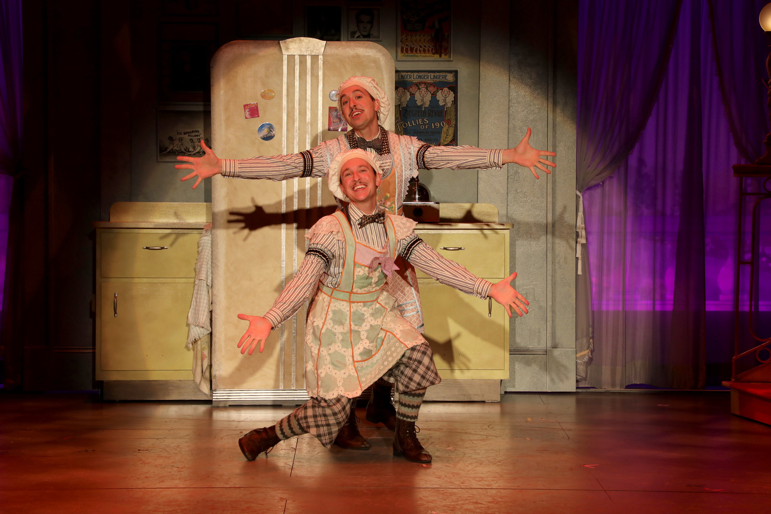 Parker Slaybaugh (with brother Blakely in  The Drowsy Chaperone )