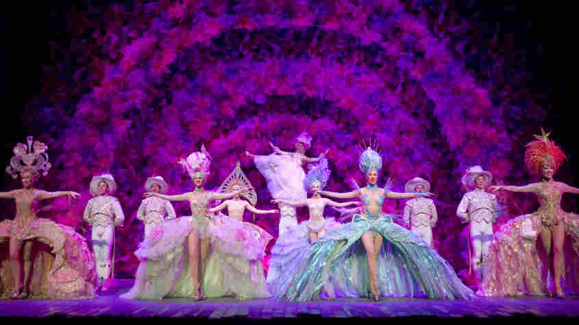 The 2011 Broadway revival of  Follies