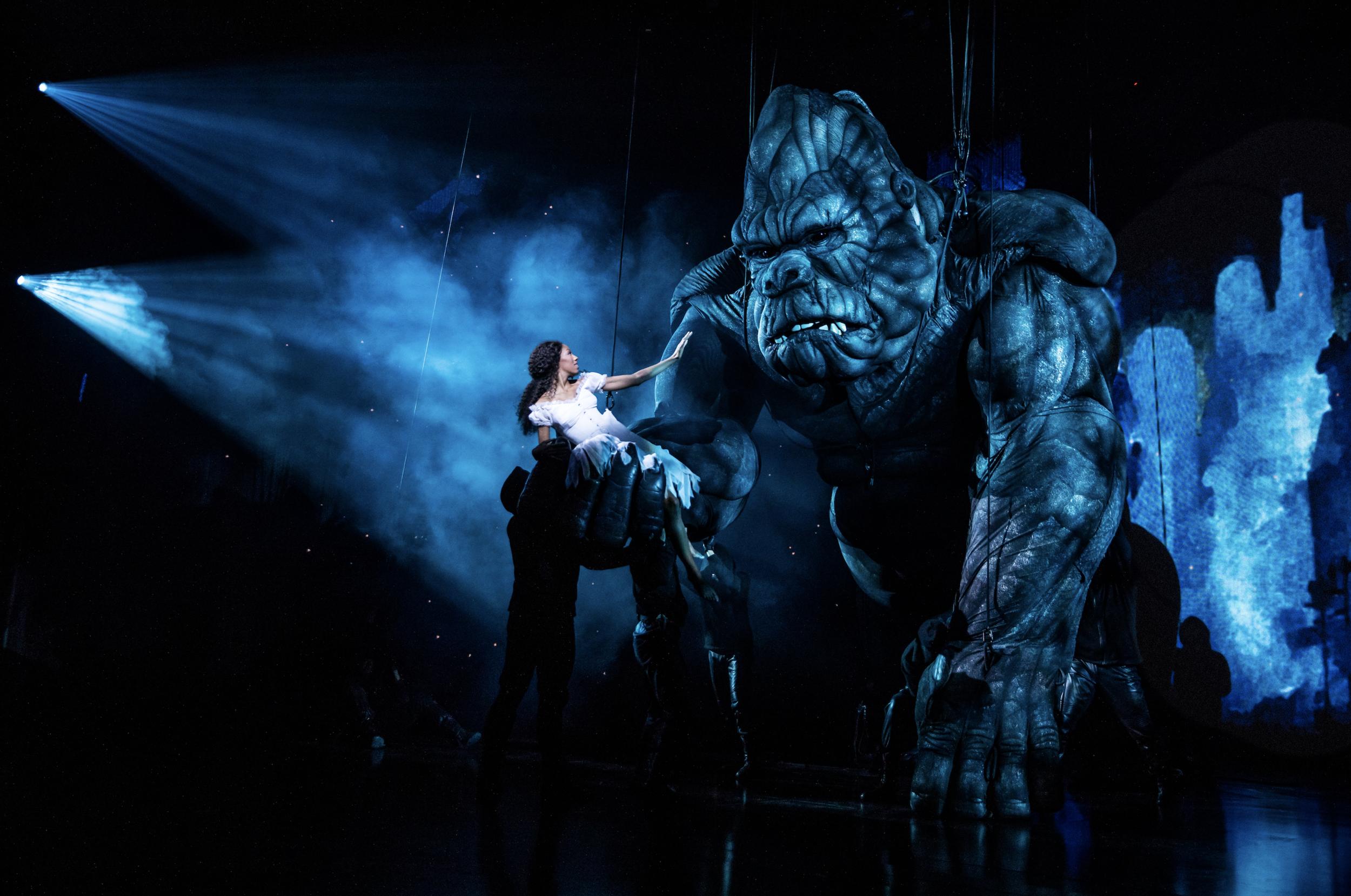 King Kong  on Broadway (Photo by Matthew Murphy)