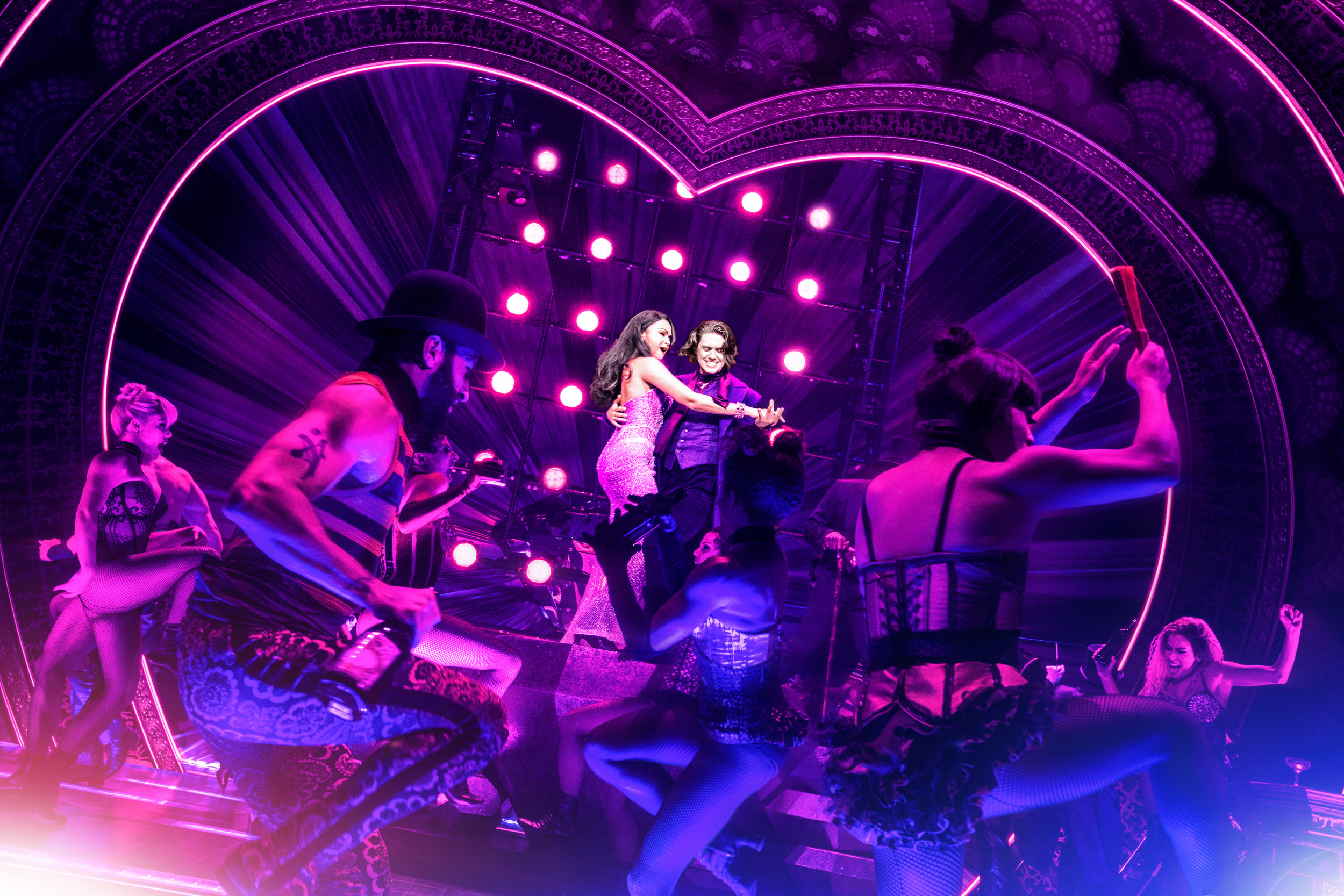 Moulin Rouge!  (Photo by Matthew Murphy)