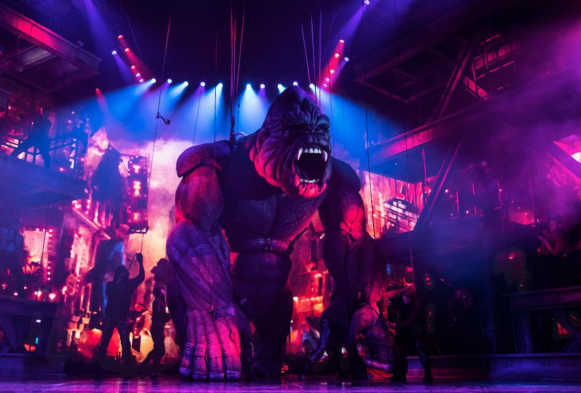 The company of  King Kong  (Photo by Matthew Murphy)