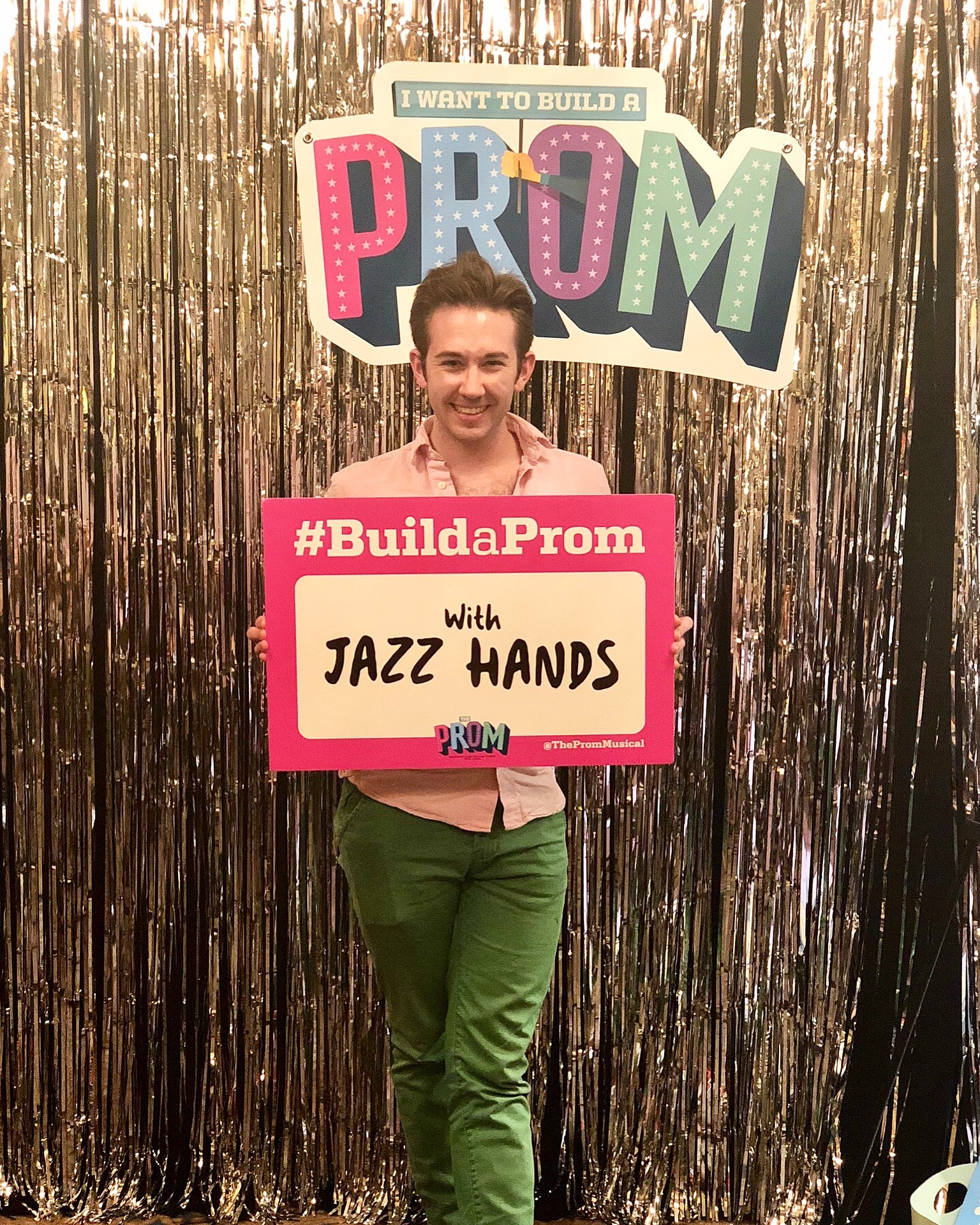 Jackson Cline at  The Prom