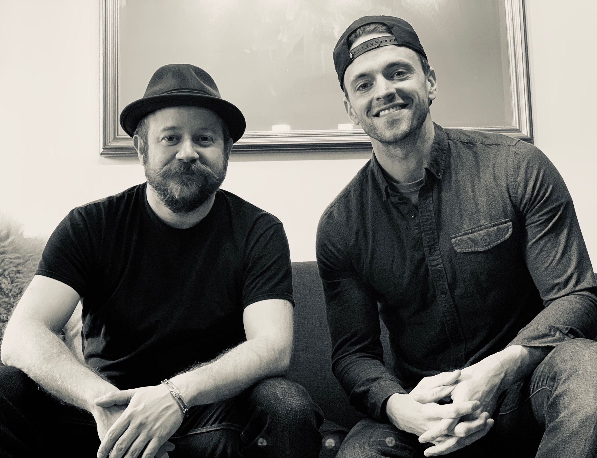 Brian Cali (left, with Jake Odmark)