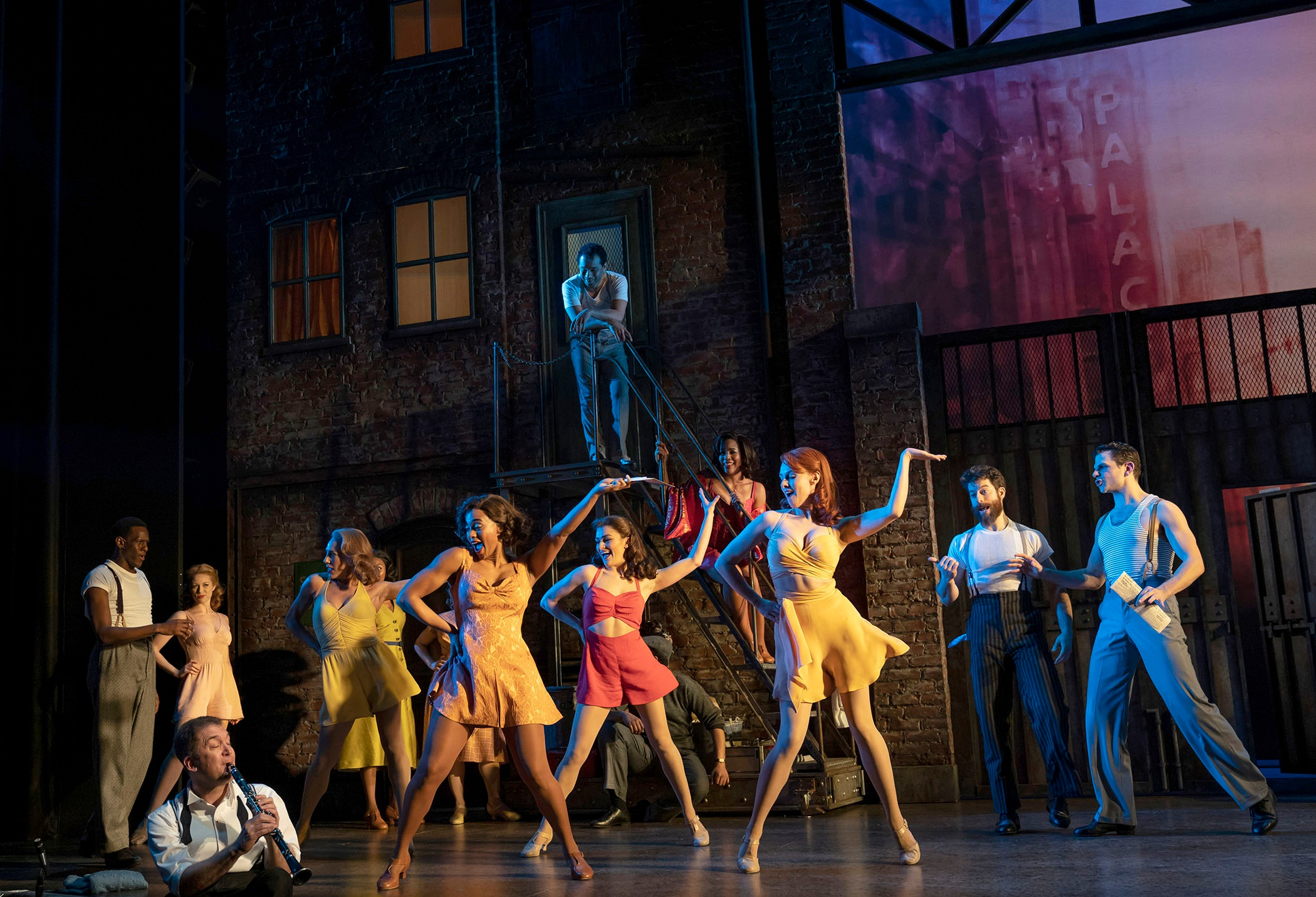 The company of  Kiss Me, Kate  (Photo by Joan Marcus)