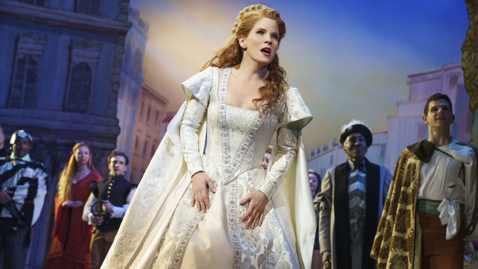 Kelli O'Hara in  Kiss Me, Kate  (Photo by Joan Marcus)