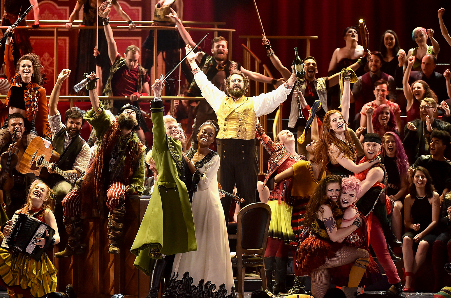 The Great Comet  at the Tony Awards