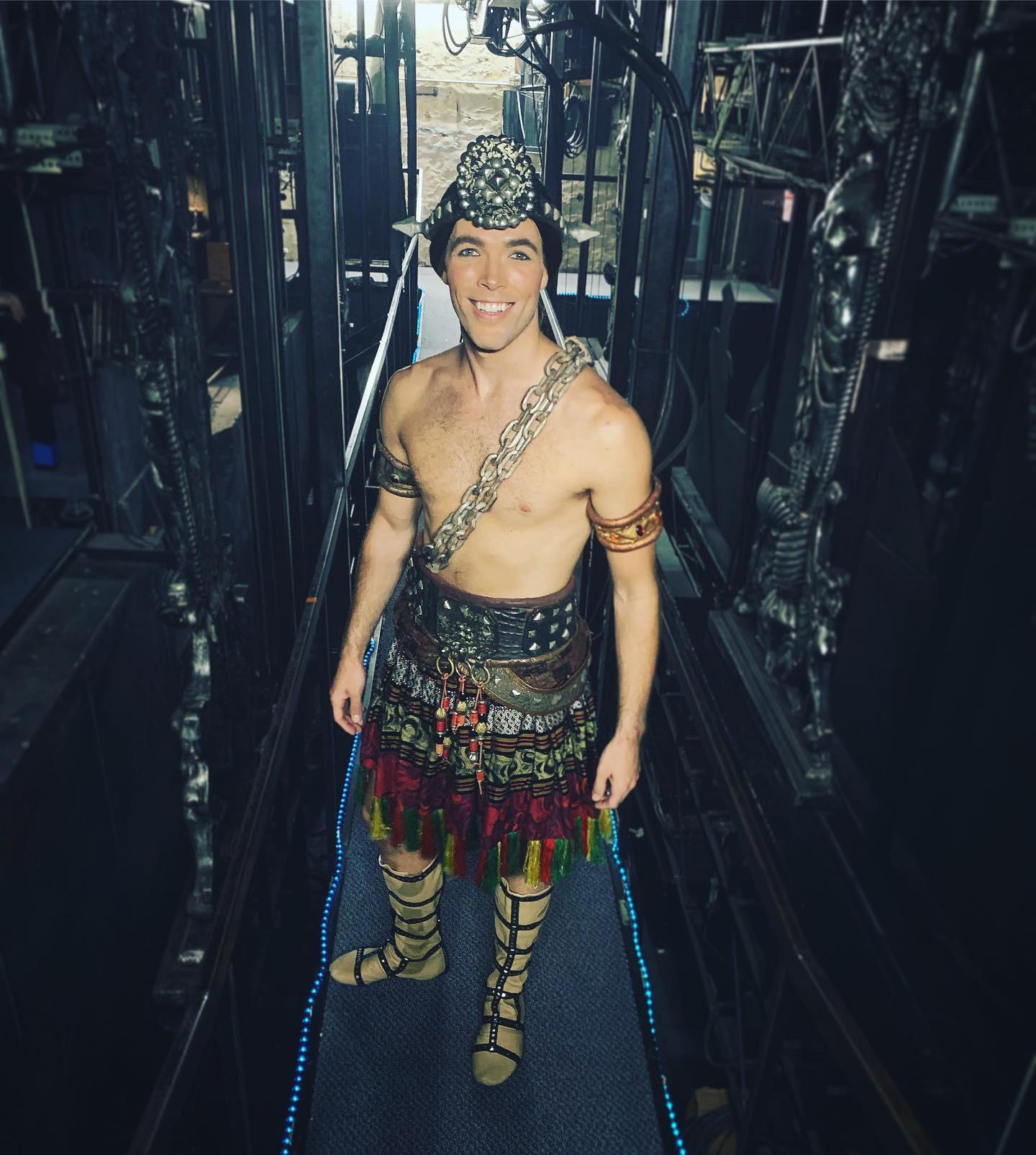 Tanner Myles Huseman in  The Phantom of the Opera