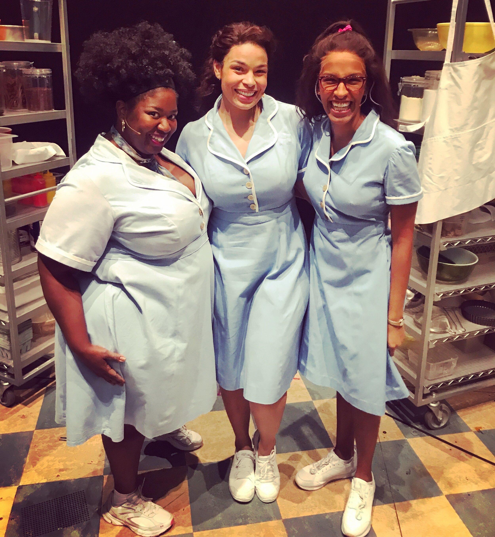 Natasha Yvette Williams, Jordin Sparks and Jessie Hooker-Bailey in  Waitress