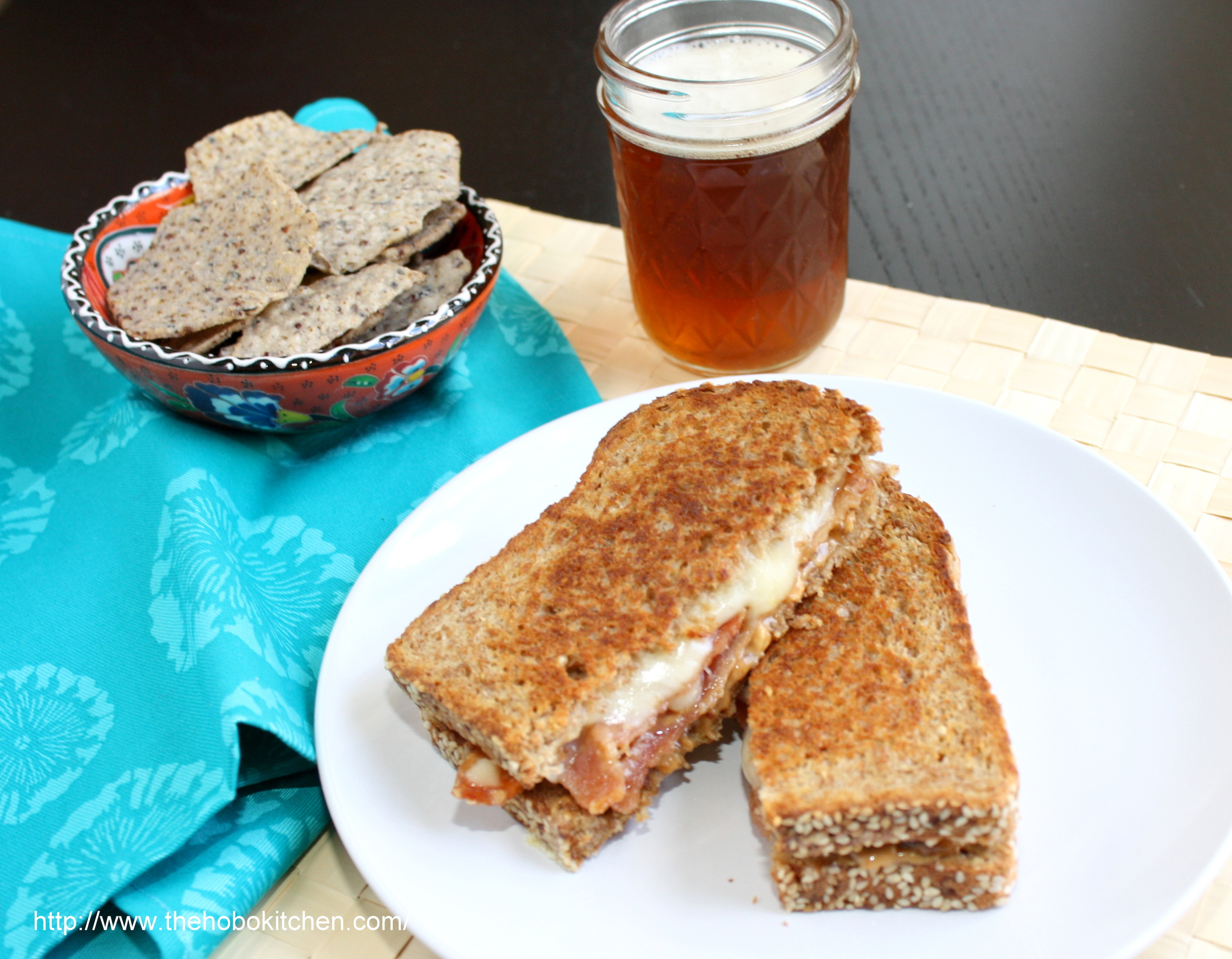 Peanut Butter Bacon Grilled Cheese The Hobo Kitchen
