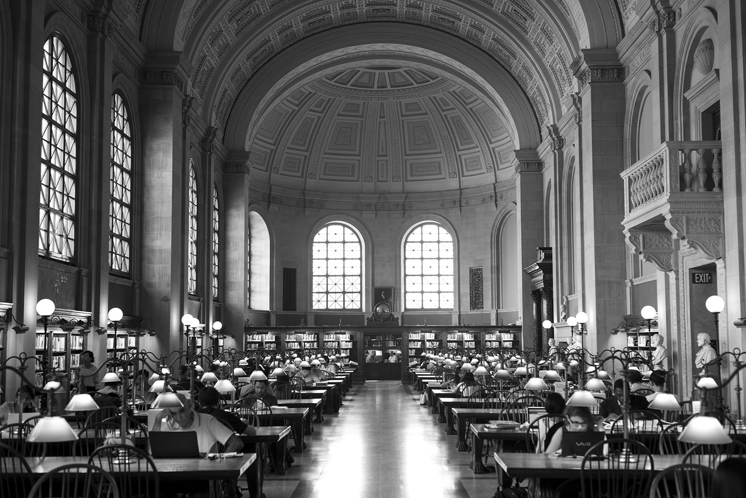 Boston Public Library.