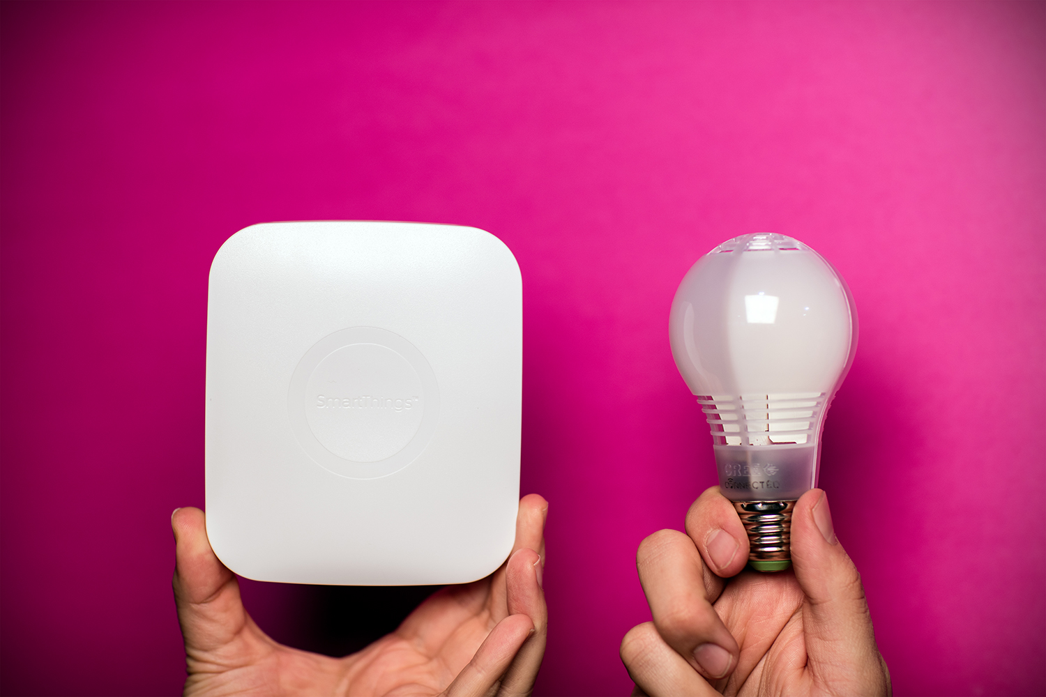 Cree Connected LED with SmartThings.