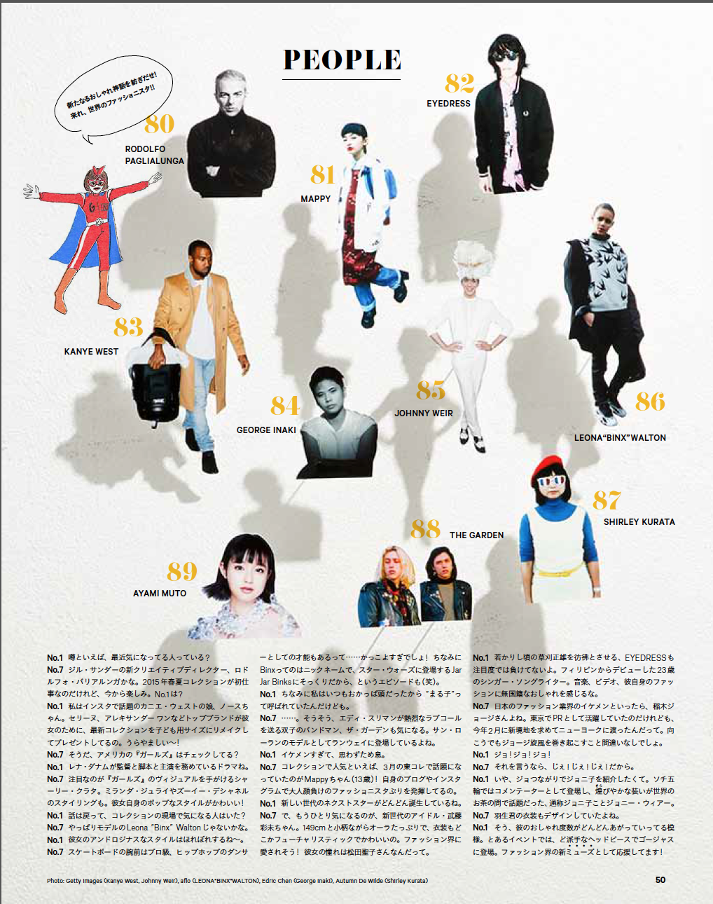 Featured by GINZA magazine in Tokyo, June 2014