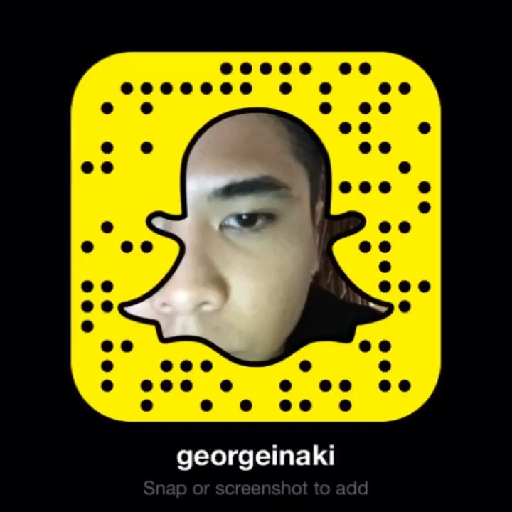 Snapchat:@georgeinaki