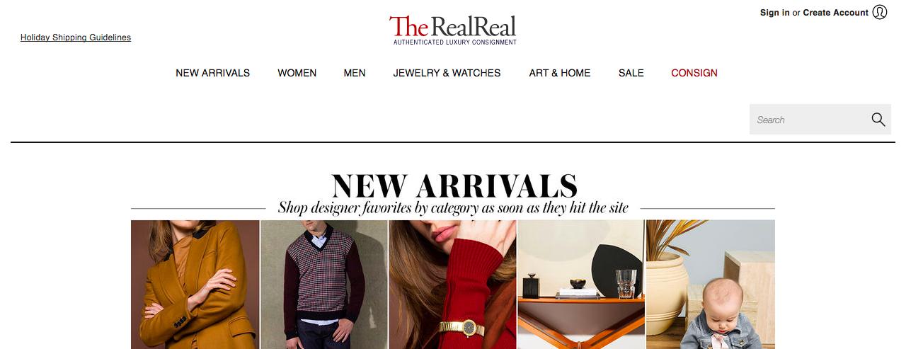 TheRealRealは委託という形で洋服を売ることができるオンラインサービス。自宅に来てピックアップしてもらえるから、ラクで助かっている!