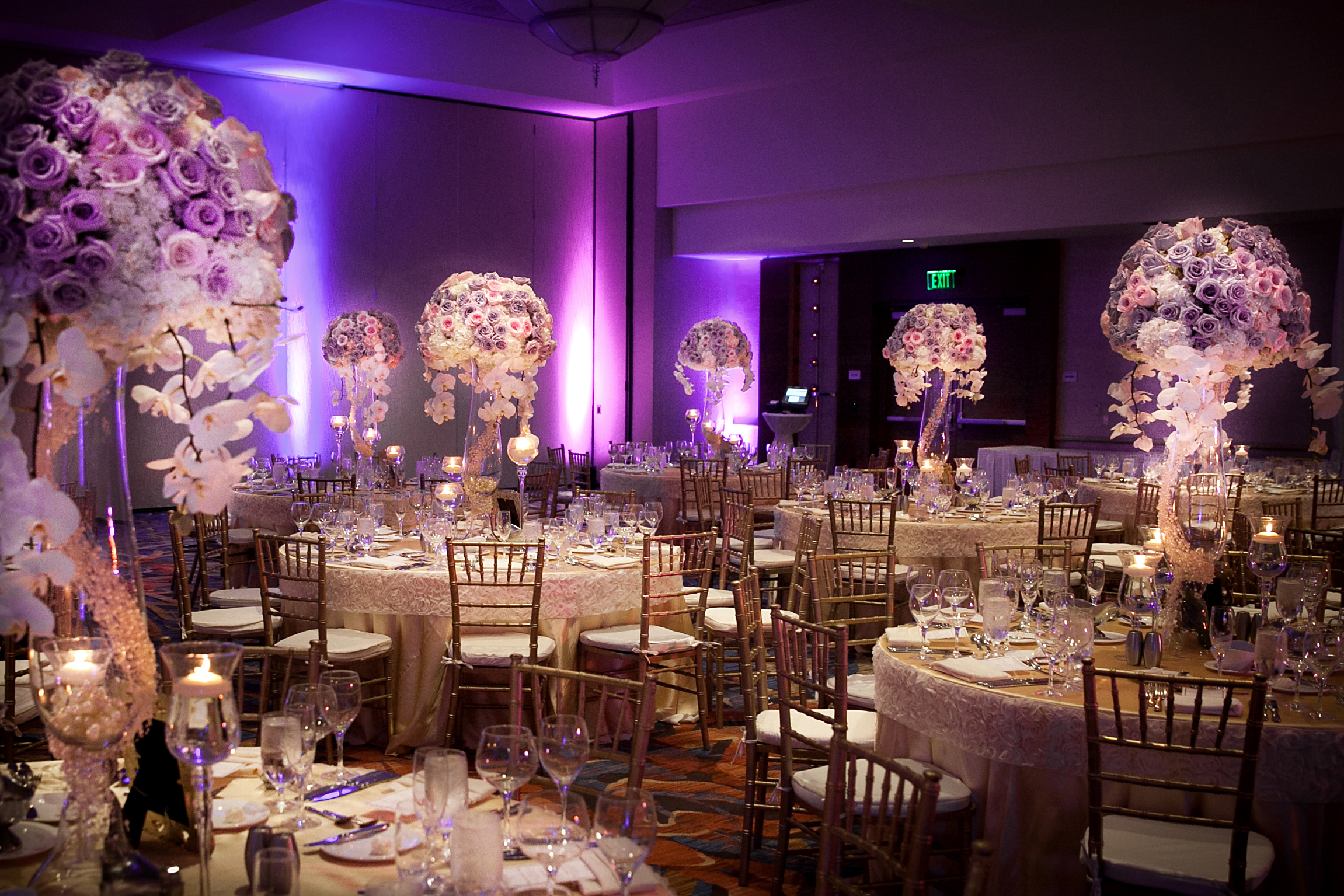 21 Tall centerpieces with lavender roses.jpg