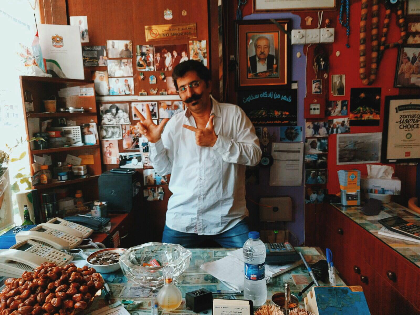 Special Ostadi owner's son, Maji Al Ansari