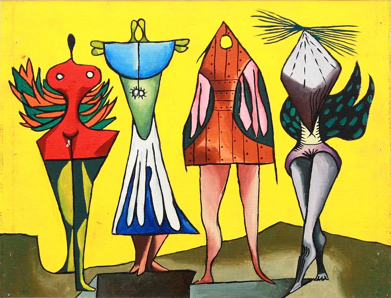 Galas de Nadja (Nadja's Elegant Outfit), 1950