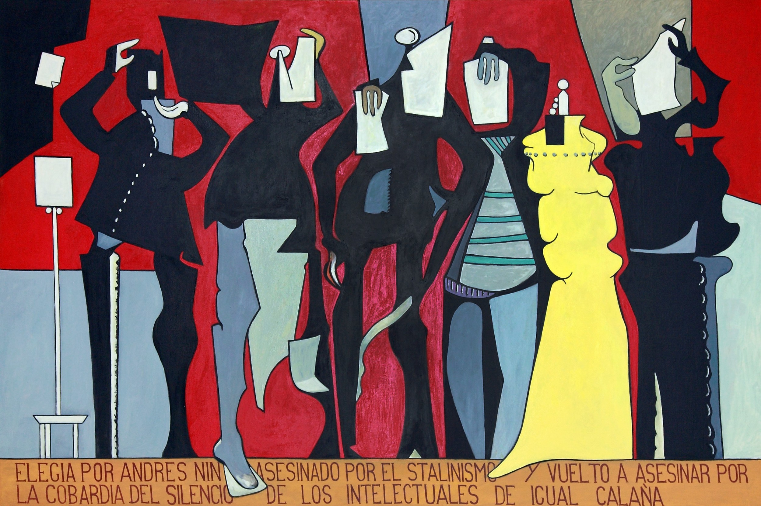 Elegía por Andrés Nin (Elegy for Andrés Nin) 1991