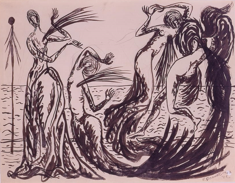 Las sirenas heridas (The Wounded Mermaids) 1942