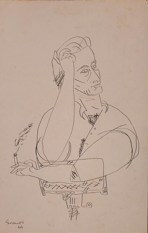 Autorretrato (Self Portrait) 1944