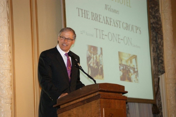 Governor Jay Inslee - Tie-One-On Luncheon (2013)