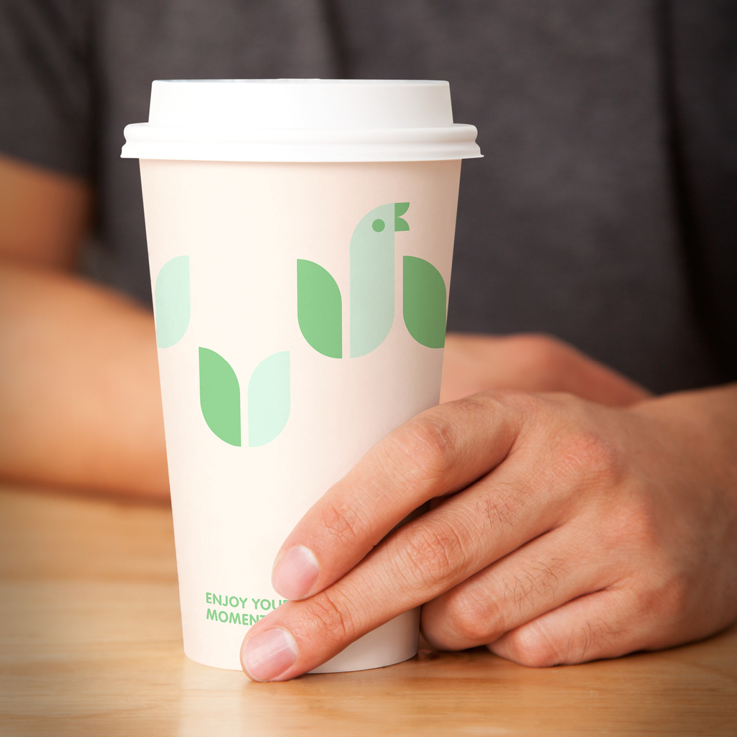 Take-out cup