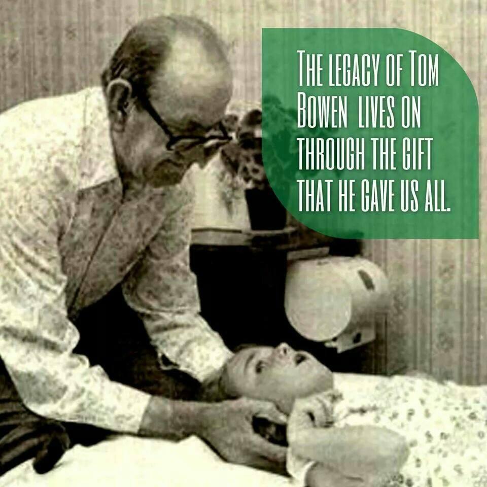 Tom Bowen - Developer of Bowen Therapy