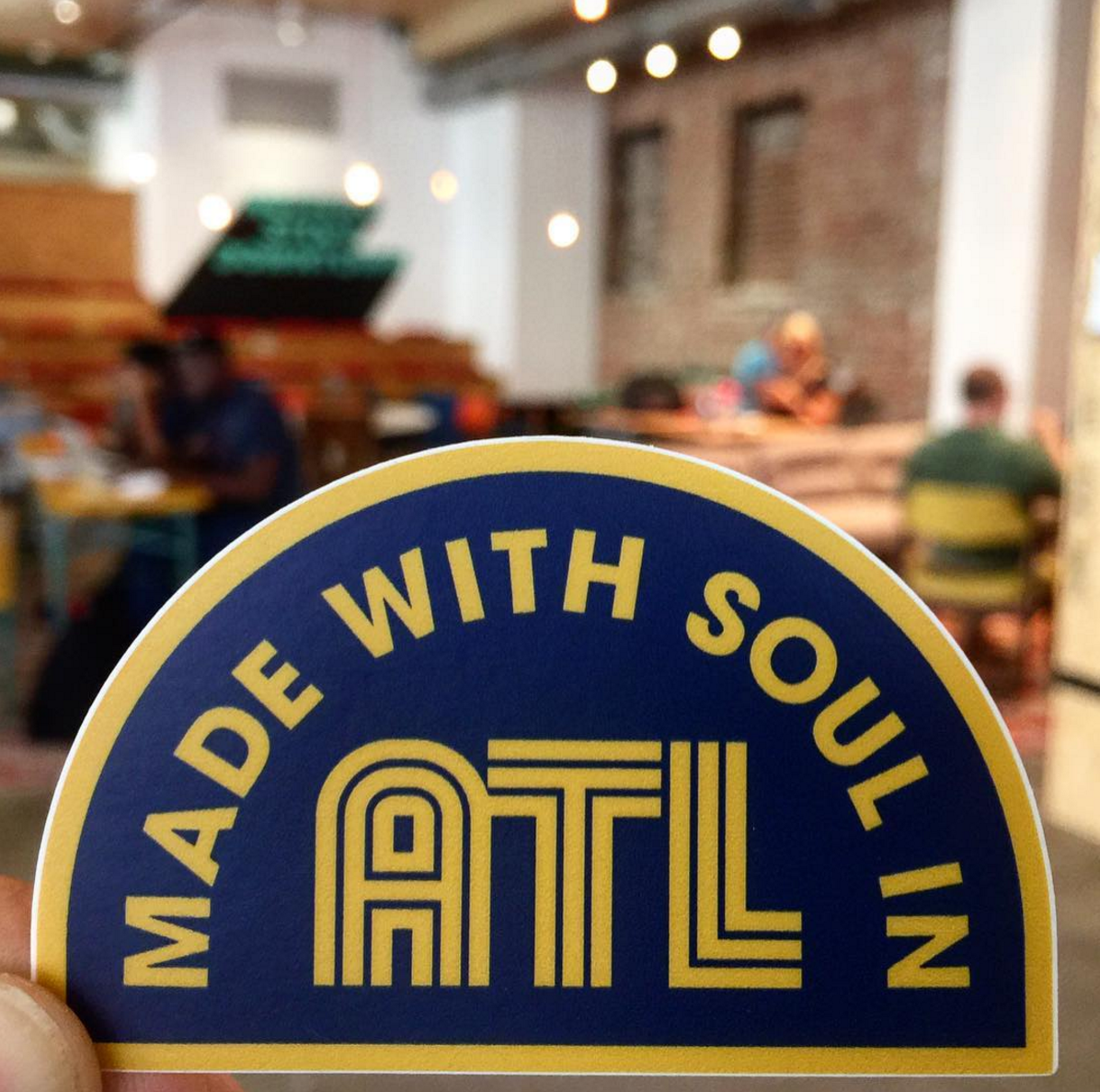 New sticker fanciness: Put a little soul on your laptop. Or your bike helmet. Wherever you get your inspiration.  PHOTO:   Switchyards