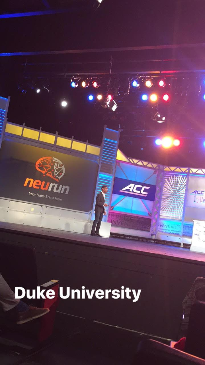 Cade Netscher  with Neurun, Duke University.| PHOTO: Tami McQueen