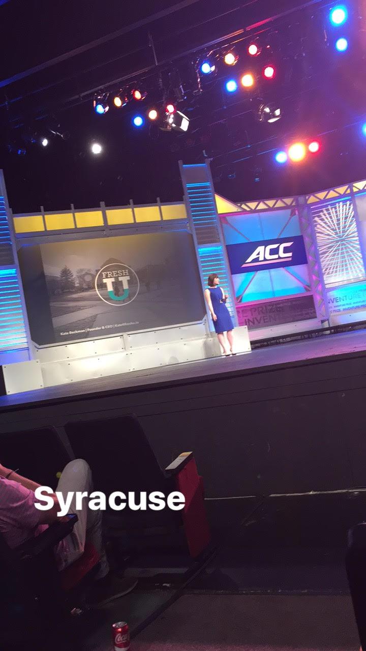 Kate Beckman  with Fresh U, Syracuse. | PHOTO: Tami McQueen