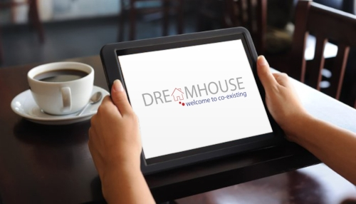 """DreamHouse """"sets out to build  co-living spaces that bring together entrepreneurs from all stages to live, work, and grow under the same roof."""" 