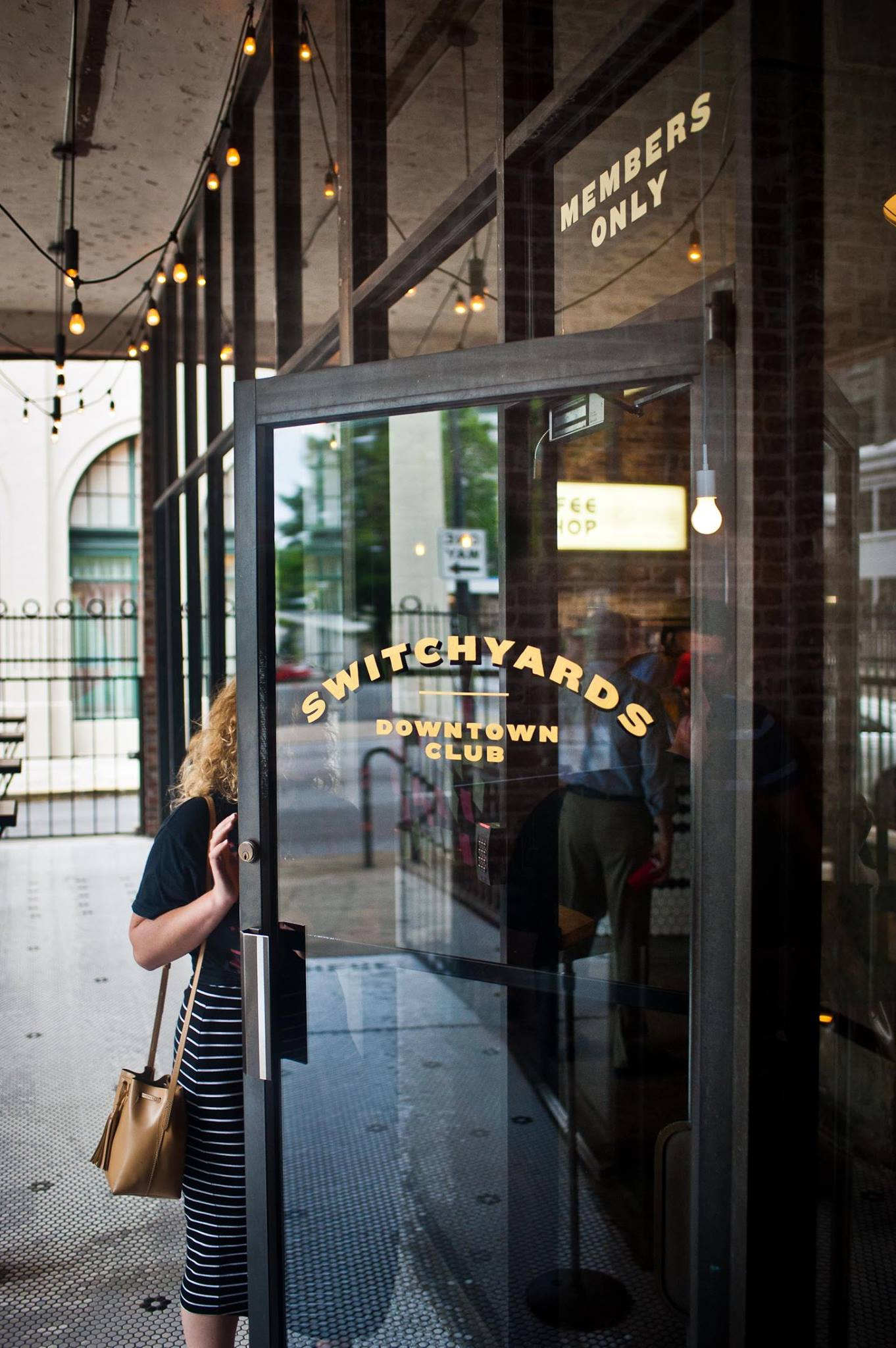 Switchyards Downtown Club . Who knows what you'll find inside? PHOTO: Jason Seagle