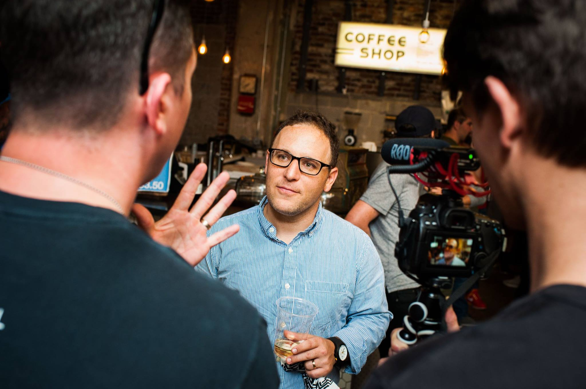 Coffee, beer, pitches, wings, and words of wisdom from founders.  The best of everything! |PHOTO: Jason Seagle