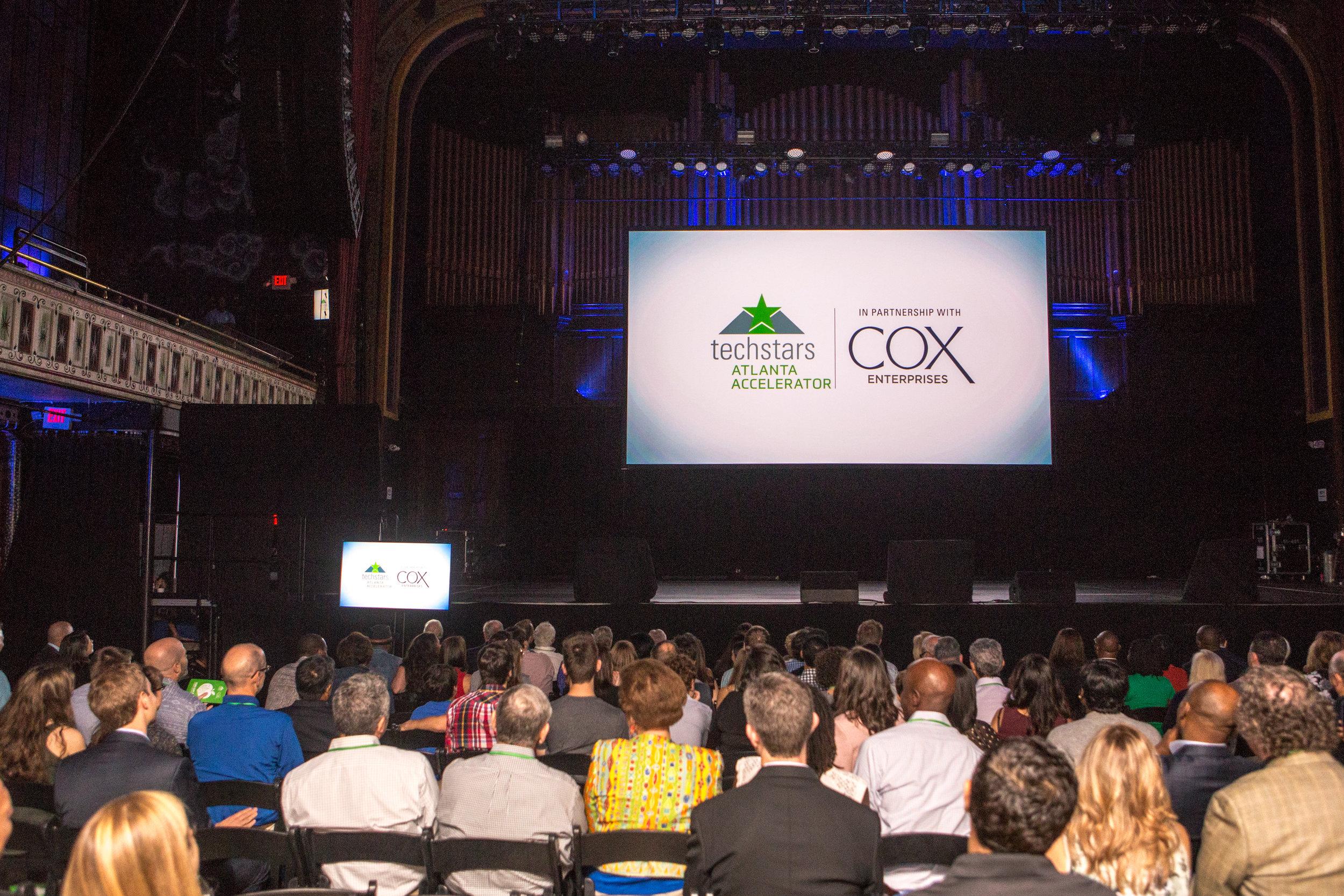 Demo Day is the  culmination of the 13-weeks Techstars Atlanta program (in partnership with Cox Enterprises) | PHOTO:  Jenni Girtman