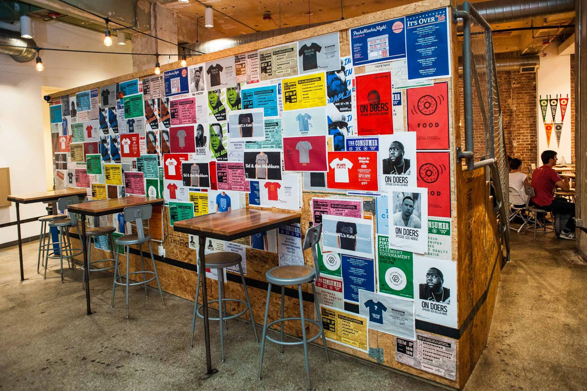 I mean, Switchyards is design-focused,  so  of course  they have posters for every event! | PHOTO:  Jason Seagle