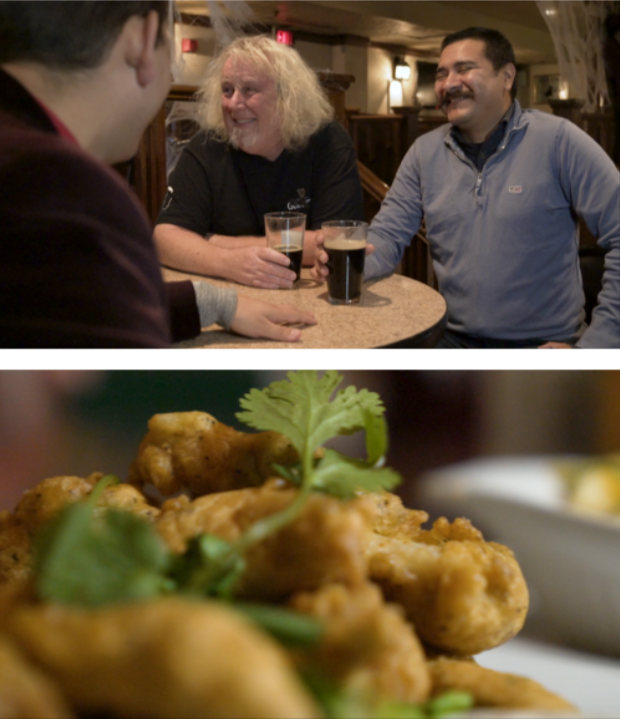 Episode 5:PUB CRAWL - Guests: Johnny Marlow, Rafa Reyes Pub Experts Johnny Marlowe and Rafael Reyes Send Jorge and Joanna on the truest form of dive food - Pub food - Making stops in some of Winnipeg's legendary dive bars as well as a secret 5 star restaurant.
