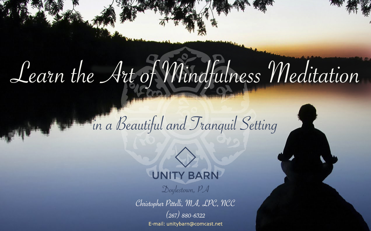 Learn to Integrate the Principles of Mindfulness into your Everyday Life. Create the Life you want to Live; Improve your overall health and well being.