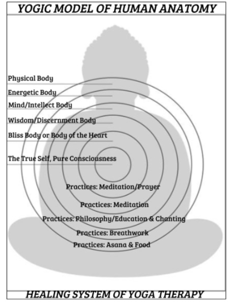 YOGIC MODEL OF HUMAN ANATOMY