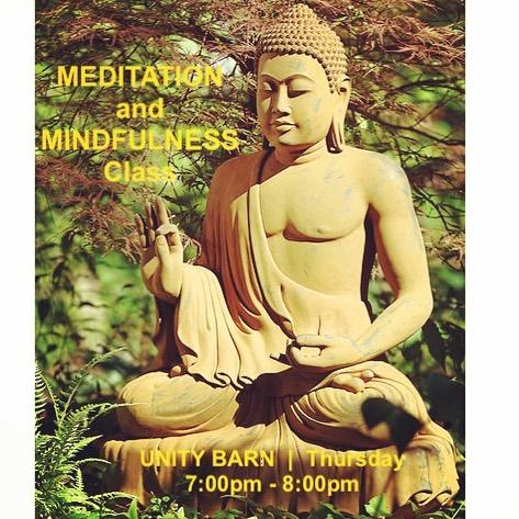 MEDITATION & MINDFULNESS class - every Thursday evening 7-8pm at the UNITY BARN  #meditation #mindfulness #dharma #buddha #meditatedoylestown #meditatebuckscounty #unitybarn #everyoneiswelcome #emptiness #karma #wisdom