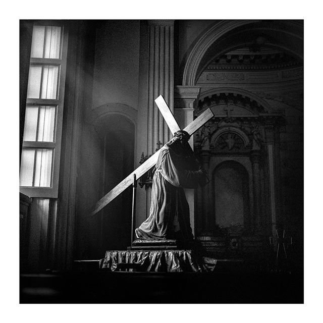 The Passion of Christ. Inglecia La Merced. #nicaragua🇳🇮 #hasselblad500c #tmax400 #6x6film #group6x6 #solotraveler #blackandwhite