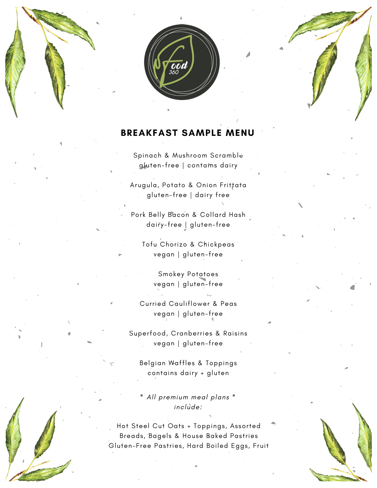 epic breakfast options - imagine warm freshly baked pastries and a hot breakfast waiting for you. yeap, it could happen.