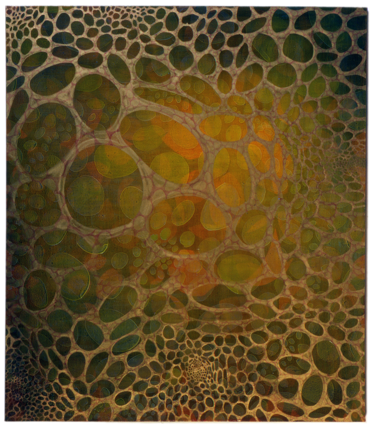 "Kevät  56 x 48""  Oil on Canvas"