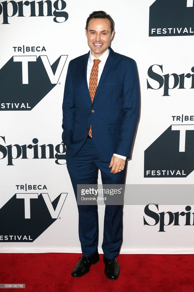 Matt W. Cody on the red carpet for LIVIN' ON A PRAIRIE at the 2018 Tribeca TV Festival